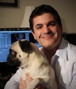 Steven with Bogie